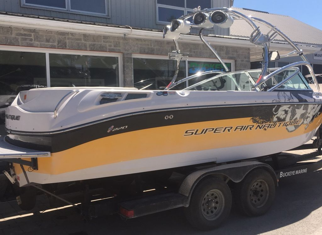 For Sale: 2008 Nautique Air 220 22ft<br/>Buckeye Marine