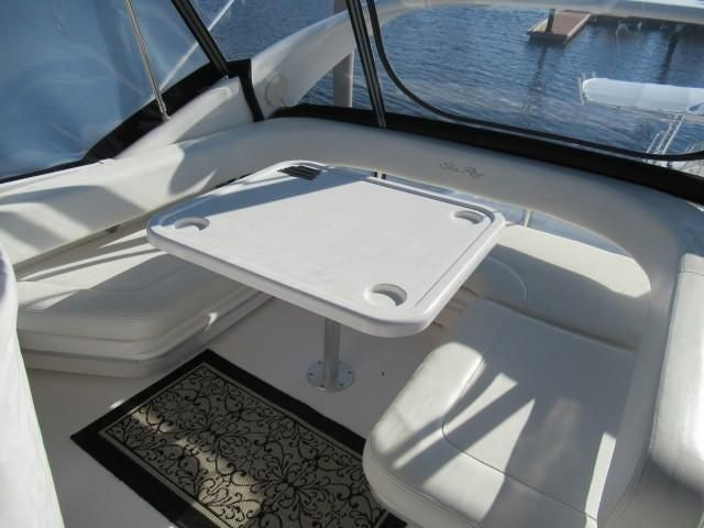 2002 Sea Ray boat for sale, model of the boat is 400 Sedan Bridge & Image # 5 of 46