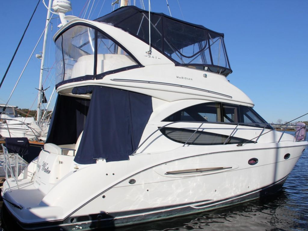 2008 Meridian boat for sale, model of the boat is 341 Sedan & Image # 15 of 57