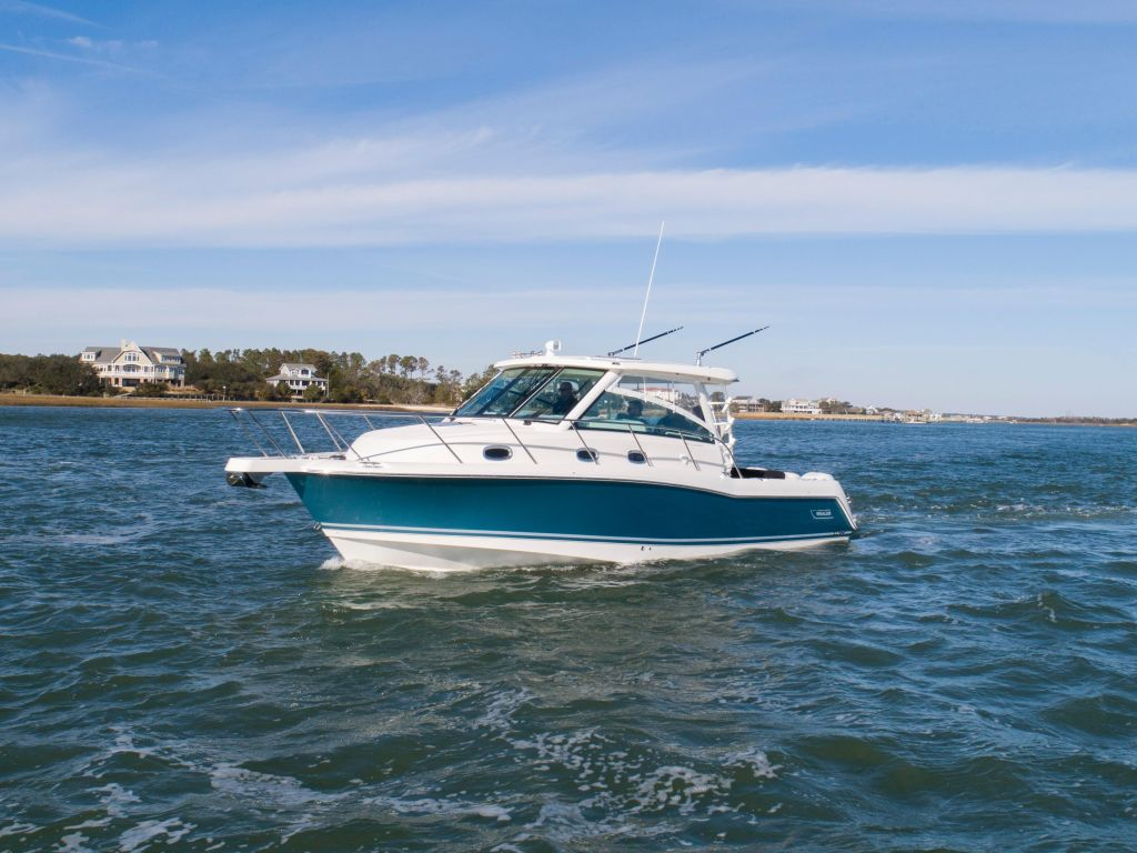 2019 Boston Whaler boat for sale, model of the boat is 345 Conquest & Image # 34 of 47
