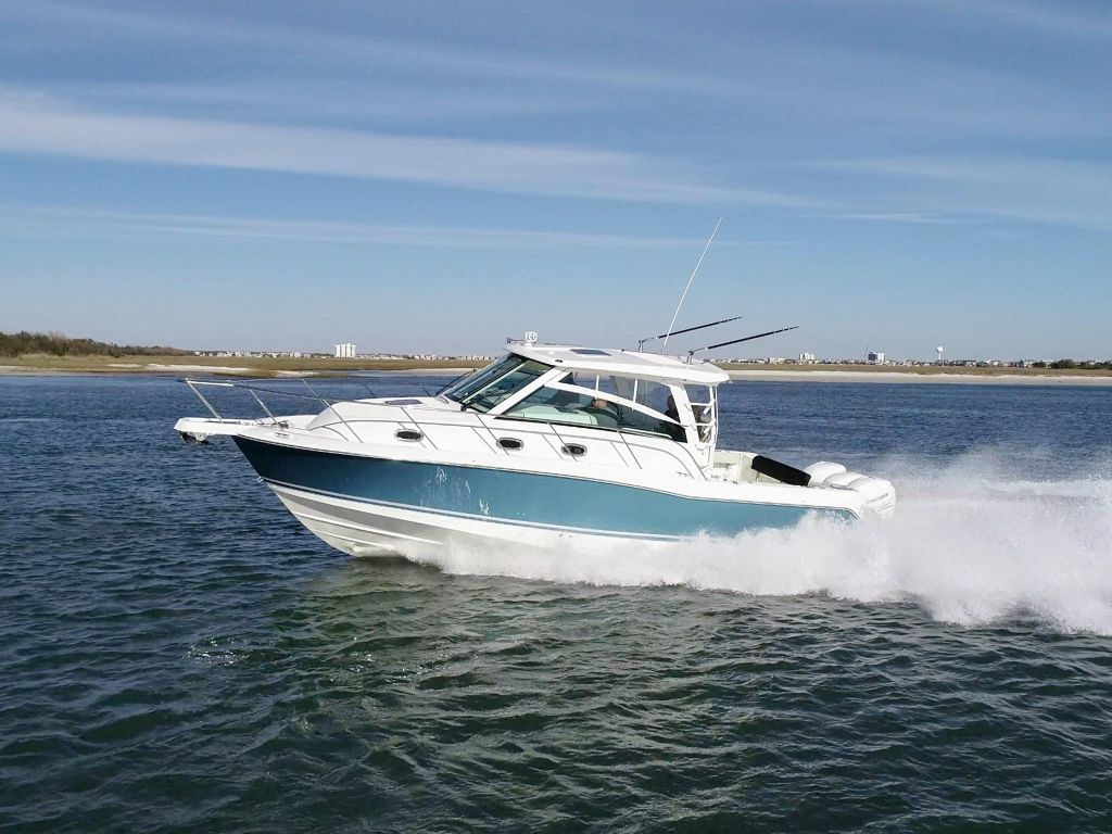 2019 Boston Whaler boat for sale, model of the boat is 345 Conquest & Image # 37 of 47
