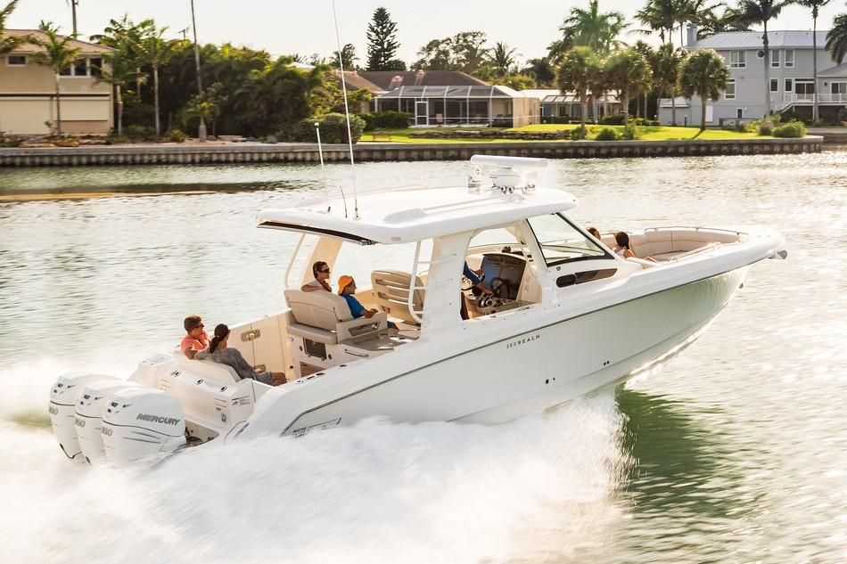 2019 Boston Whaler boat for sale, model of the boat is 350 Realm & Image # 3 of 17