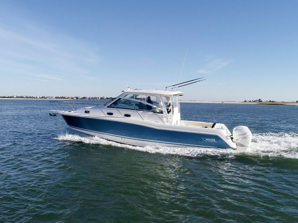 2019 Boston Whaler boat for sale, model of the boat is 345 Conquest & Image # 38 of 47