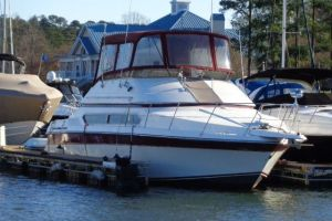 1989 CARVER 3467 SANTEGO for sale
