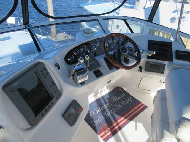 2002 Sea Ray boat for sale, model of the boat is 400 Sedan Bridge & Image # 46 of 46