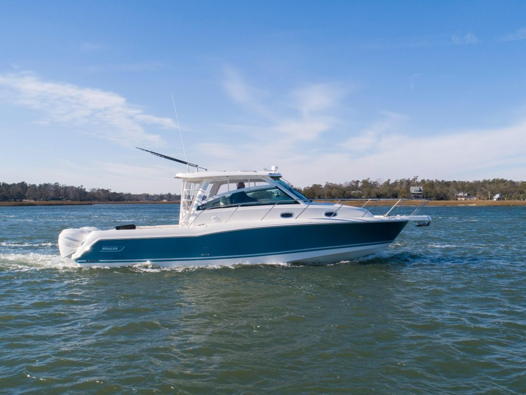 2019 Boston Whaler boat for sale, model of the boat is 345 Conquest & Image # 36 of 47