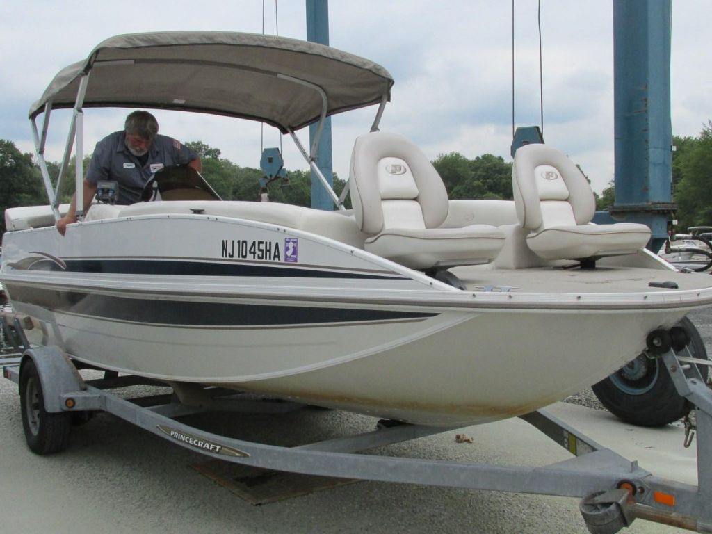 2006 Princecraft boat for sale, model of the boat is Ventura 192V L2S O/B & Image # 58 of 62