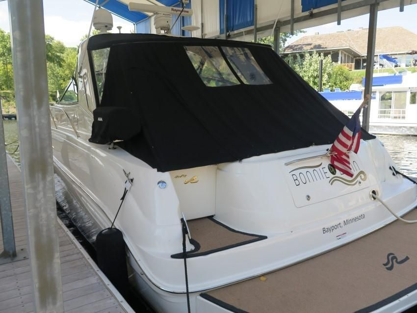 2000 Sea Ray boat for sale, model of the boat is 460 Sundancer & Image # 52 of 53