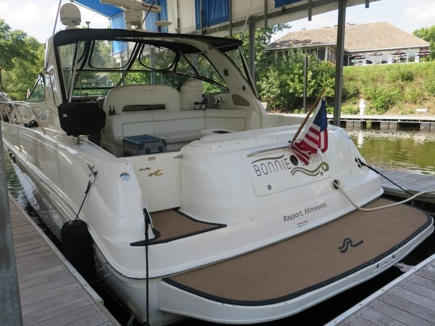 2000 Sea Ray boat for sale, model of the boat is 460 Sundancer & Image # 9 of 53