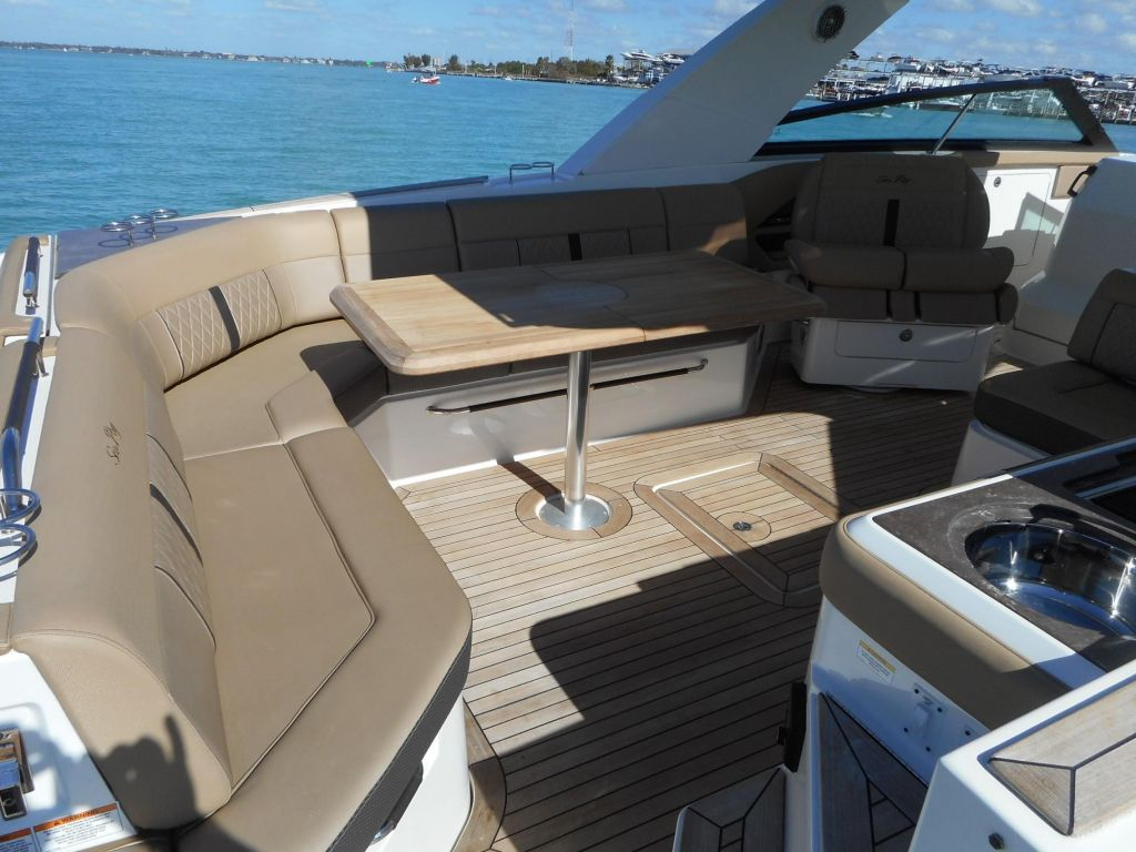 2018 Sea Ray boat for sale, model of the boat is 400 SLX & Image # 45 of 53