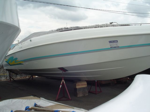 1996 Baja boat for sale, model of the boat is 420 ES & Image # 2 of 12
