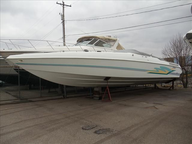 1996 Baja boat for sale, model of the boat is 420 ES & Image # 1 of 12