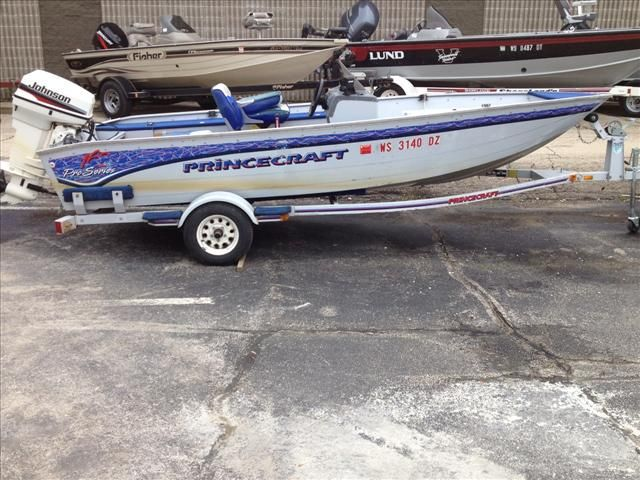 1996 Princecraft 16 Sc Po Series