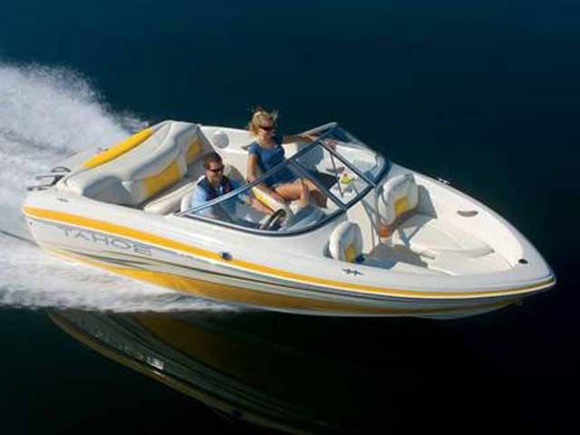 2009 Tahoe boat for sale, model of the boat is Q4 SS & Image # 1 of 2