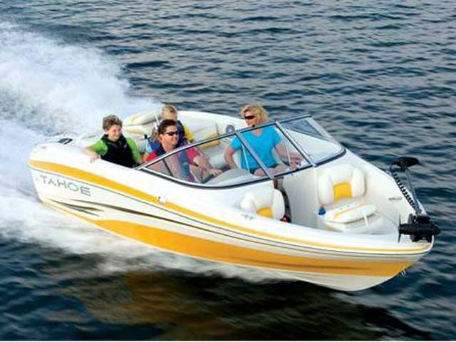 2009 Tahoe boat for sale, model of the boat is Q5i SF & Image # 1 of 7