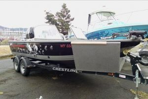 2012 CRESTLINER RAPTOR 21 for sale