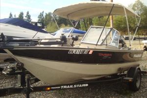2000 TRACKER BOATS 17 TARGA for sale