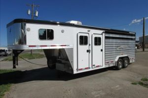 2012 FEATHERLITE PERFECT FIT COMBO TRAILER for sale