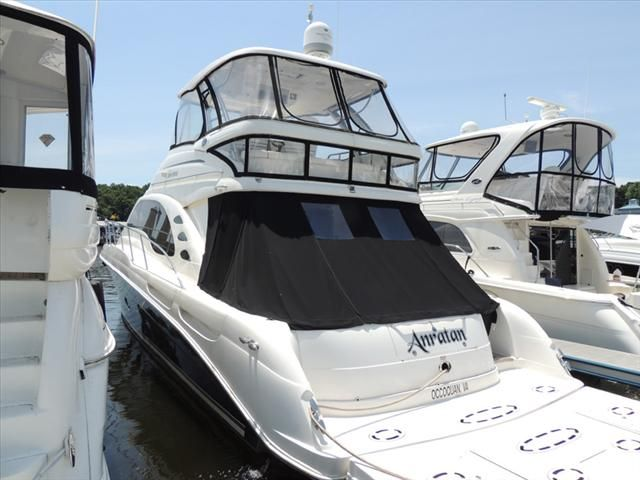 2007 Sea Ray boat for sale, model of the boat is 58 Sedan Bridge & Image # 2 of 39