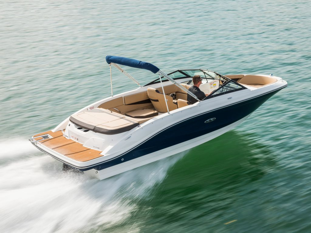 For Sale: 2019 Sea Ray Spx210 21ft<br/>Trudeau's Sea Ray - Portland
