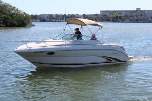 2001 SEA RAY 245 WEEKENDER for sale
