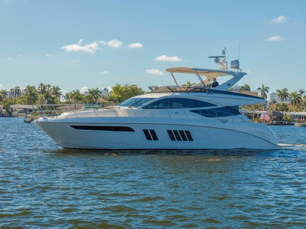 2018 Sea Ray boat for sale, model of the boat is L650 Fly & Image # 2 of 73