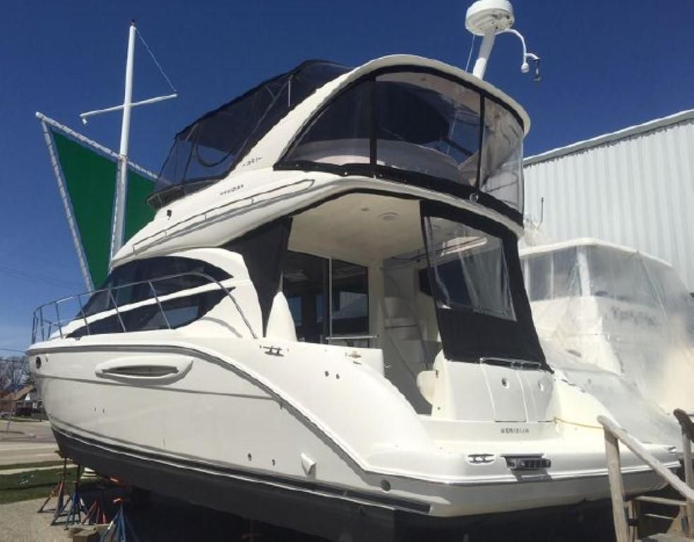 2006 Meridian boat for sale, model of the boat is 391 Sedan & Image # 1 of 10
