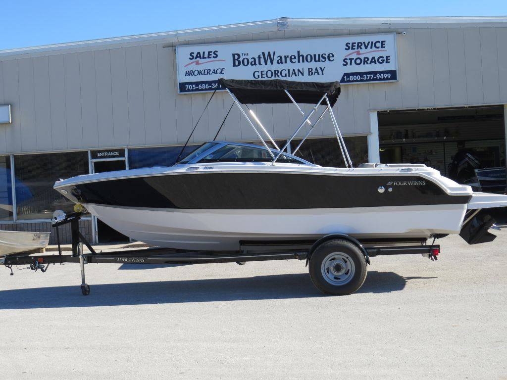 2018 Four Winns boat for sale, model of the boat is H190 Volvo Penta 200HP Tower Trailer Ext Platform & Image # 29 of 32