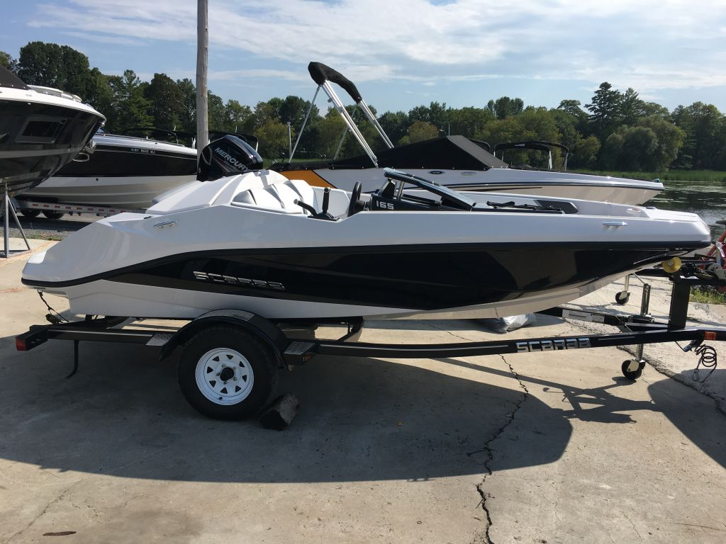 2018 Scarab boat for sale, model of the boat is 165 Ghost Rotax 150HP Trailer & Image # 3 of 13