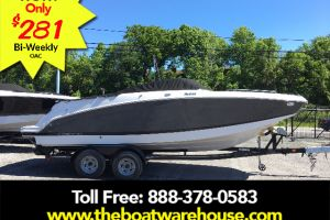 2017 FOUR WINNS 2017 FOUR WINNS HD 240 MERCRUISER 6.2L BRAVO 3 350 HP TRAILER for sale