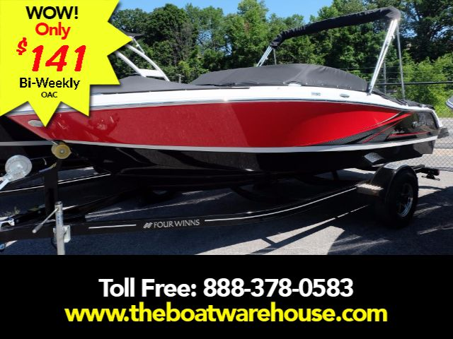 For Sale: 2017 Four Winns H180ss Volvo 200hp Trailer 18ft<br/>The Boat Warehouse - Kingston