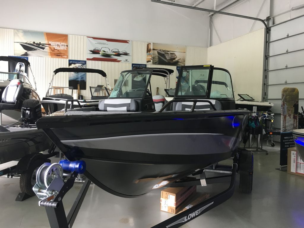 For Sale: 2017 Lowe Fs 1610 Merc 115hp Trailer Fish Finder Stereo 16ft<br/>The Boat Warehouse - Kingston