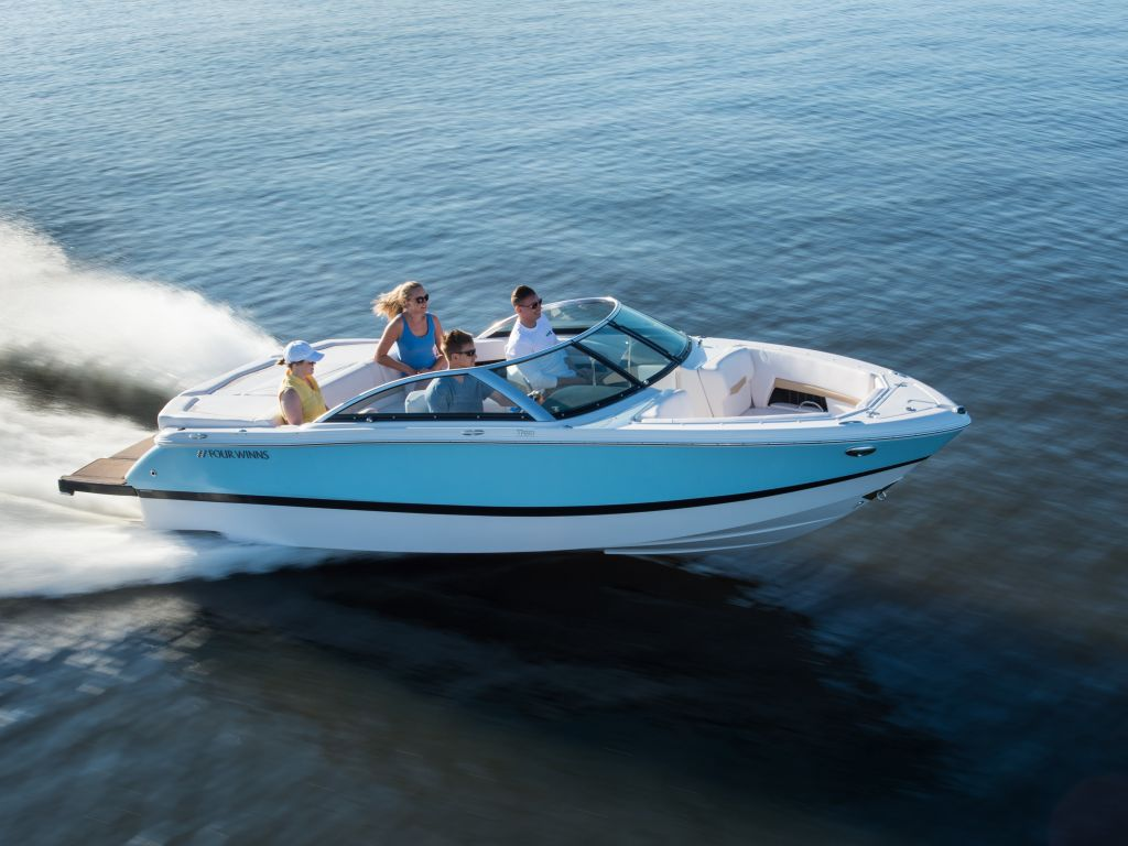 2018 Four Winns boat for sale, model of the boat is H210 Mercruiser 250HP Trailer & Image # 28 of 35