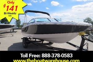 2018 FOUR WINNS H180 MERCRUISER 4.5L 200HP TRAILER BIMINI TOP EXTENDED SWIM PLATFORM for sale