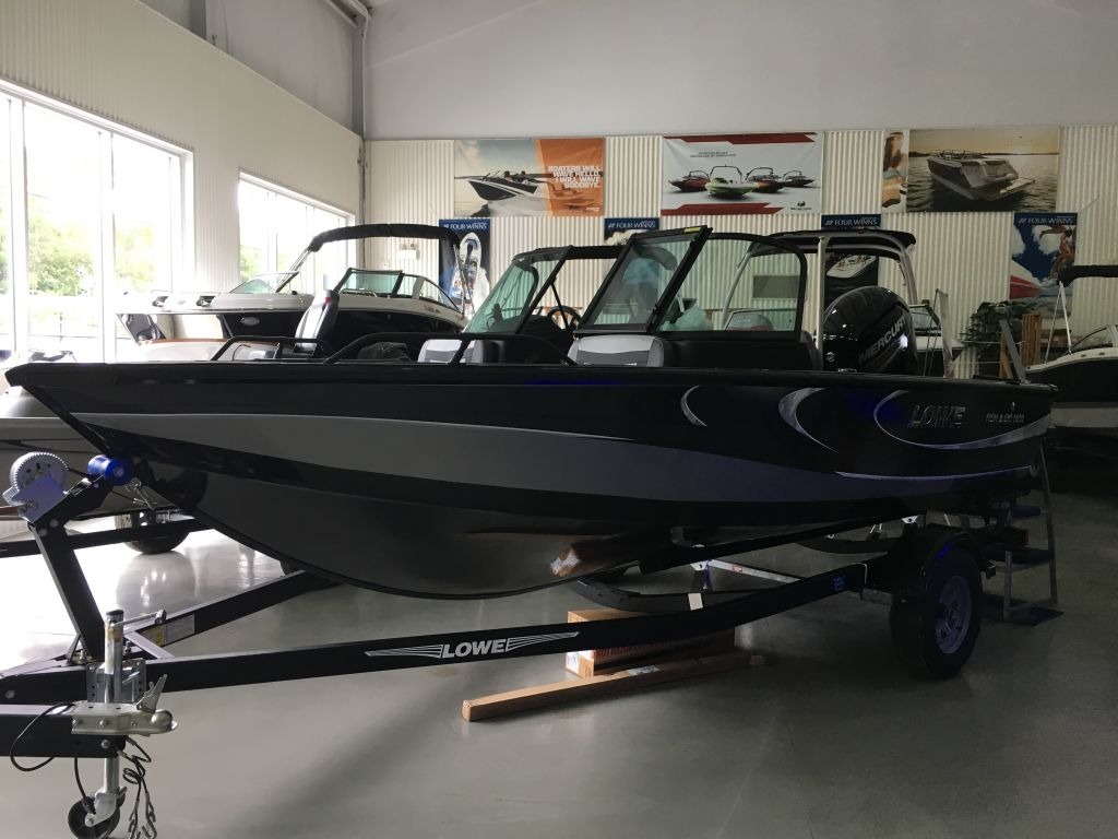 For Sale: 2018 Lowe Fs 1610 Merc 115hp Trailer Fish Finder Stereo 16ft<br/>The Boat Warehouse - Kingston
