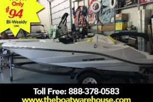 2017 SCARAB 165 GHOST ROTAX 150HP  BIMINI TOP BLUETOOTH STEREO 4 SPEAKERS TRAILER for sale