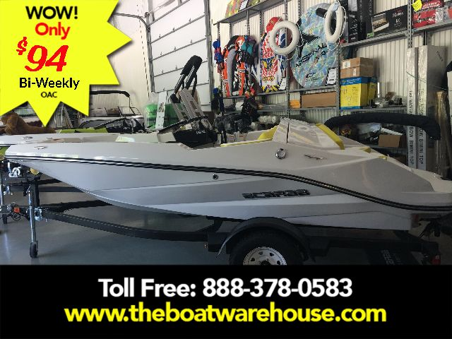 For Sale: 2017 Scarab 165 Ghost Rotax 150hp  Bimini Top Bluetooth Stereo 4 Speakers Trailer 15.8ft<br/>The Boat Warehouse - Kingston