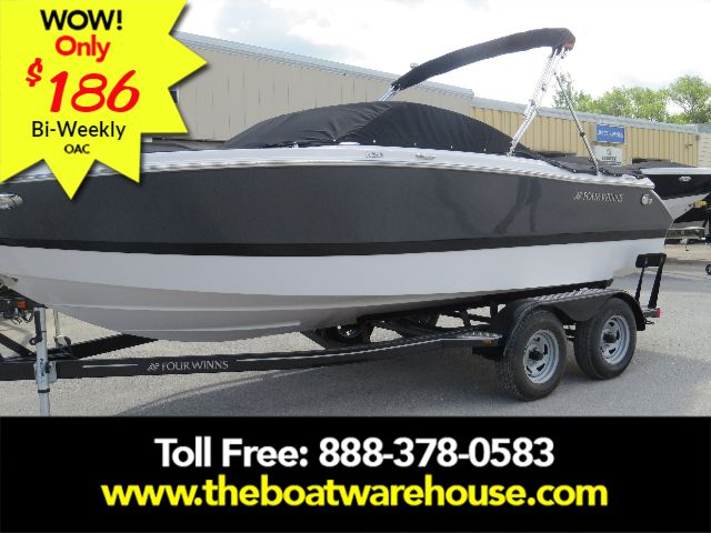 For Sale: 2018 Four Winns H210 Mercruiser 250hp Trailer 21ft<br/>The Boat Warehouse - Kingston