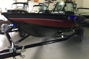 2018 LOWE FS 1610 MERC 90HP TRAILER FISH FINDER STEREO for sale