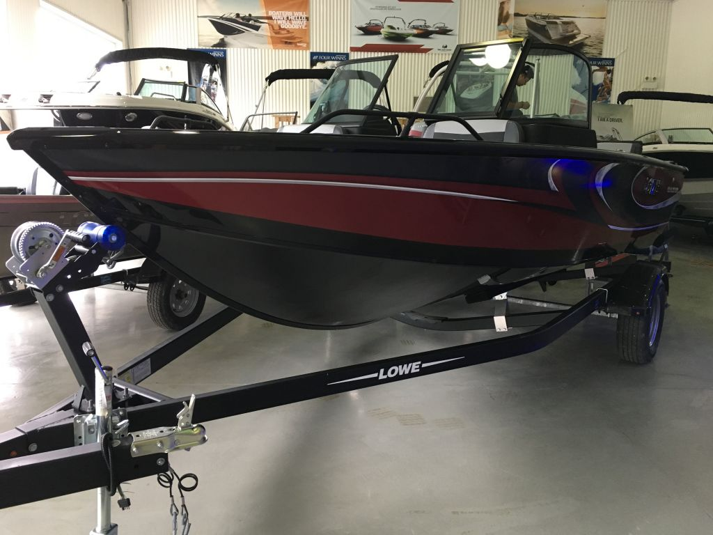 For Sale: 2018 Lowe Fs 1610 Merc 90hp Trailer Fish Finder Stereo 16ft<br/>The Boat Warehouse - Kingston