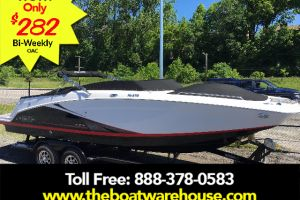 2016 FOUR WINNS HD 270SS MERCRUISER 350HP  TRAILER TOILET for sale