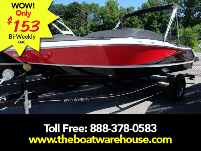 For Sale: 2017 Four Winns H180ss Volvo 200hp Trailer Tower 18ft<br/>The Boat Warehouse - Kingston