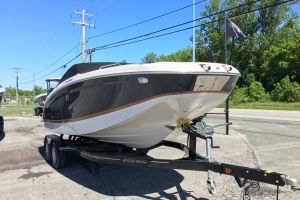 2017 FOUR WINNS HD 220 MERCRUISER BRAVO 1 6.2L 300HP HEAD WITH PUMP OUT TANDEM TRAILER for sale