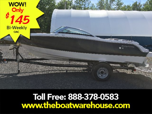 For Sale: 2018 Four Winns H190 Volvo Penta 200hp Trailer Ext Platform 19ft<br/>The Boat Warehouse - Kingston