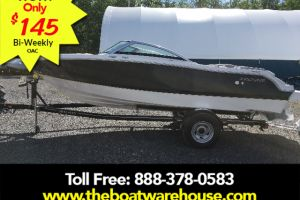 2018 FOUR WINNS FOUR WINNS H190 VOLVO V6 200HP TRAILER EXTENDED SWIM PLATFORM for sale