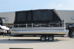2018 LOWE SS210 MERCURY 150HP TRAILER FULL ENCLOSURE TRI TOON for sale