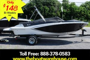 2018 GLASTRON GT 205 MERCRUISER 250HP TRAILER EXT PLATFORM for sale