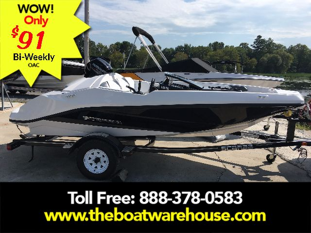For Sale: 2018 Scarab 165 Ghost Rotax 150hp Trailer 15.8ft<br/>The Boat Warehouse - Kingston
