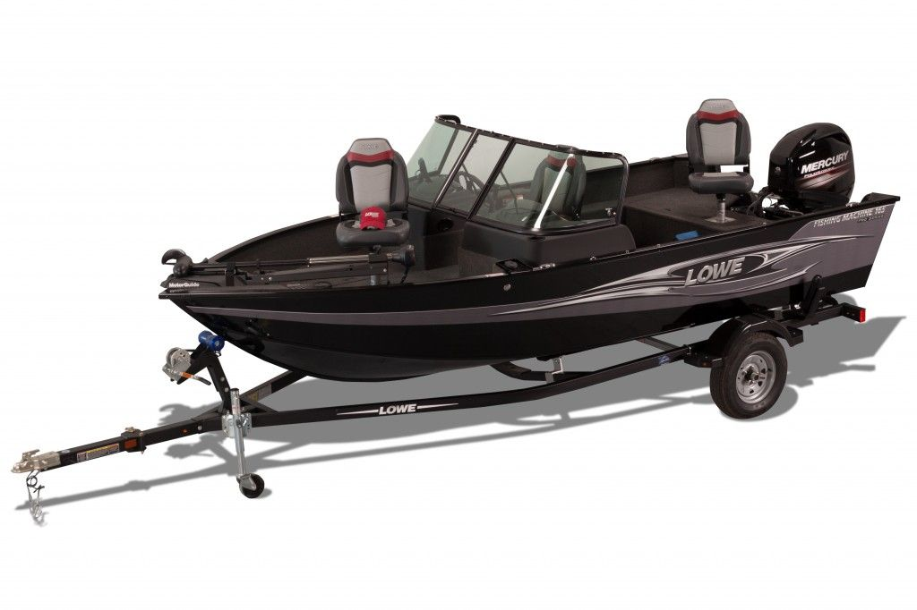 2018 Lowe boat for sale, model of the boat is FM165 Pro WT Mercury 60HP Trailer Trolling Motor Fish Finder & Image # 20 of 22