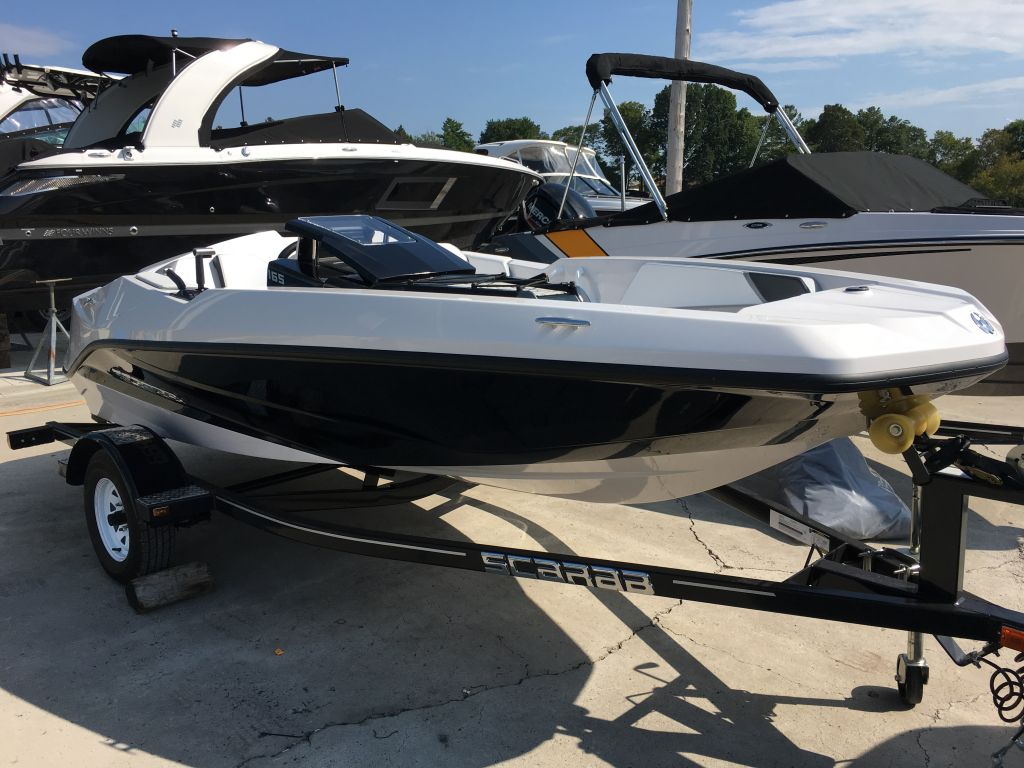 2018 Scarab boat for sale, model of the boat is 165 Ghost Rotax 150HP Trailer & Image # 2 of 13